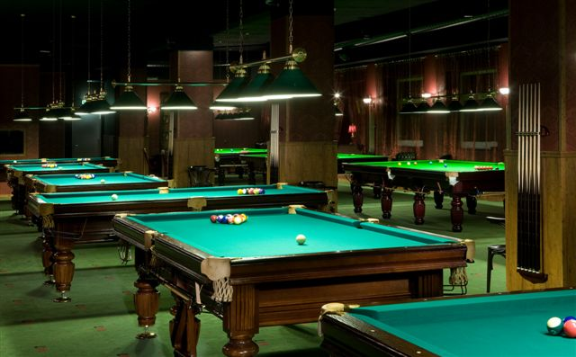 Pool and Billiard, Club 147, piljardisaal