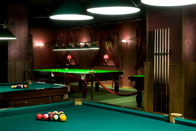 Piljardisaal pool snooker piljard